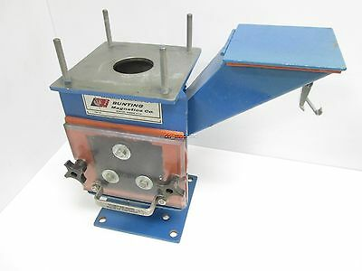 "Bunting Magnetics 80042 FF Series Drawer Magnetic Separator 2"" ID w/ Hopper"