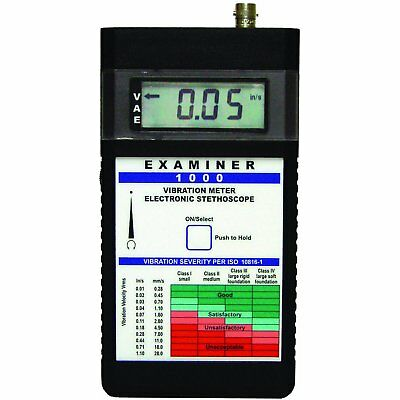 Monarch 6400-011 Examiner 1000 System Vibration Meter without OnTime Software