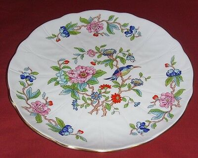 "AYNSLEY Bone China ""PEMBROKE"" LARGE DINNER PLATE ~ PERFECT"