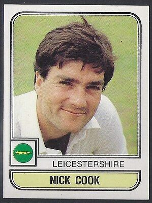 Panini-Cricket 83-#115- Leicestershire - Nick Cook