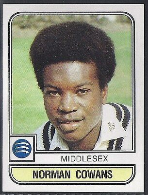 Panini-Cricket 83-#128- Middlesex - Norman Cowans