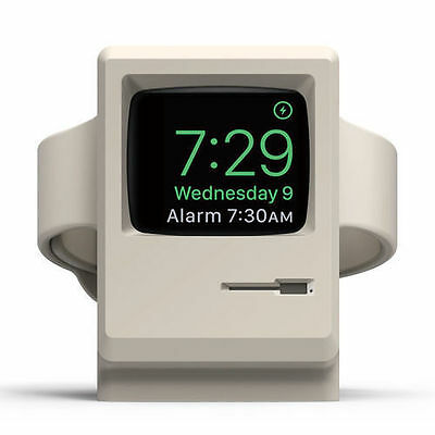 Apple Watch 1&2 Elago W3 Stand Supports Nightstand Mode Classic Apple PC Design