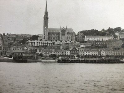 Old Original Photograph of Queenstown Cobh Cork Ireland