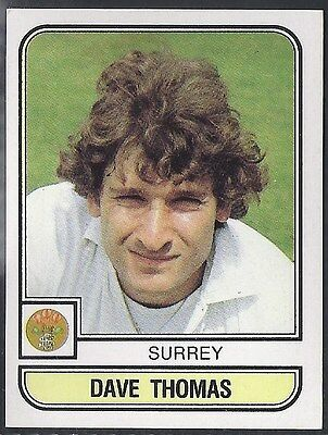 Panini-Cricket 83-#192- Surrey - Dave Thomas