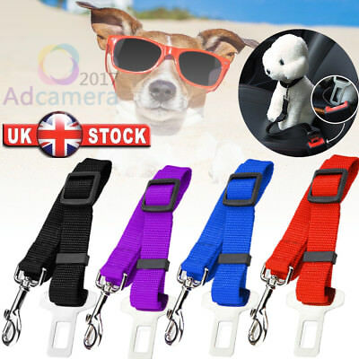 Pet Dog Cat Car Seat Belt Adjustable Seatbelt Leash lead Harness Vehicle 4 COLOR