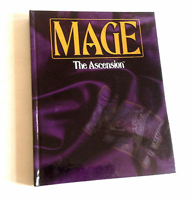 Mage The Ascension HardbacK Book (World of Darkness), etc., Brucato, Phil,