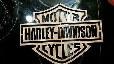 harley davidson sign/ plaque/man cave/games room/fathers day gift