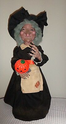 1986 VINTAGE TELCO HALLOWEEN MOTION-ETTE WITCH with BOX! L@@K!