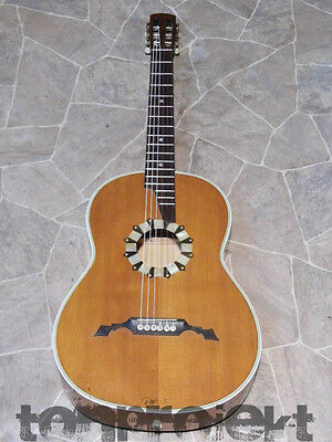 gorgeous fine old all solid historic 3/4 classical GUITAR Germany ~1920 Hopf ?