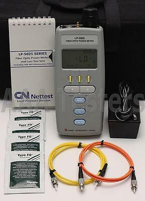 Laser Precision GN Nettest LP-5025 SM MM Fiber Optic Power Meter LP 5025