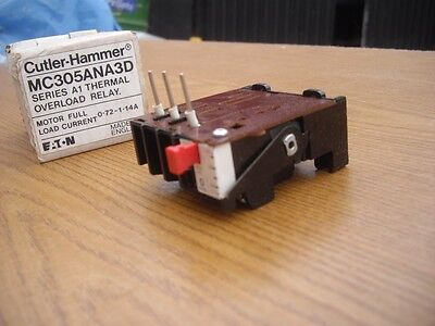 Cutler-Hammer Thermal Overload Relay Mc305Ana3D #d483