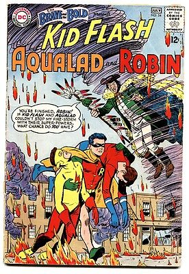 Brave And The Bold #54 First Teen Titans-key Issue-1964 Comic book g/vg