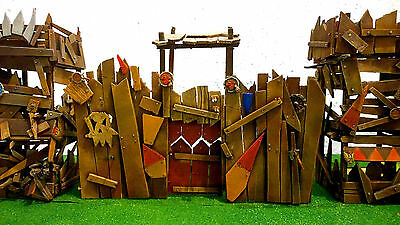 Warhammer Orcs And Goblins Scenery Fortress - Castle Pro Painted