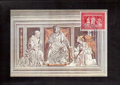 Vatican 2 Maximum Cards Set, 1964 # 395/96 Cardinal Nicolaus Cusanus !!
