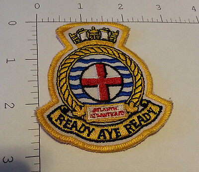 """Patch - Royal Canadian Navy - Maritime Forces Atlantic (Approx. 3"""" x 2.5"""")"""