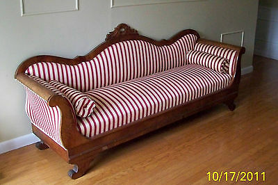 Antique 1800S American Empire Settee Sofa Couch---Pick Up Only---
