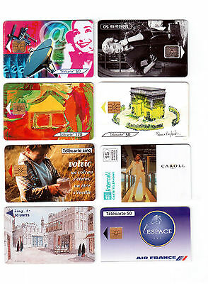 Phone Cards, Lot Of 8 Different !!3