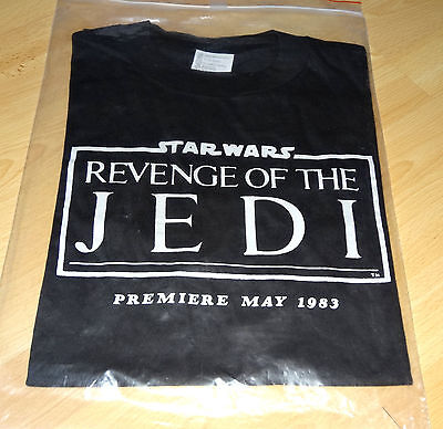STAR WARS ORIGINAL Revenge Of The Jedi T-Shirt with Date - Ultra Rare