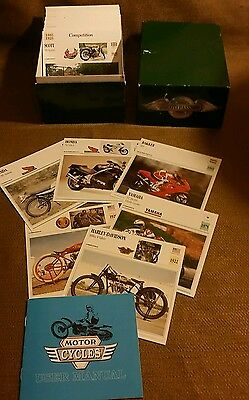 Moto Passion Motorcycle Cards from Atlas Edition! ( 260 cards in this listing!)