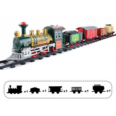 Continental Express Classic Battery Operated Kids Toy Train Set Light Sound