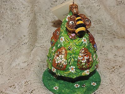 Patricia Breen Jeweled Beeskep Topiary Sculpture Free Standing