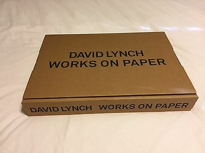 David Lynch:  Works on Paper *Unopened 1st Edition, Lmt Edition MINT Twin Peaks