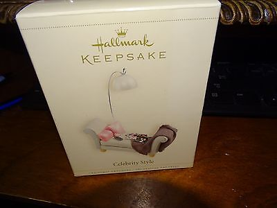 Hallmark Keepsake Ornament 2006 Celebrity Style Hollywood Movie Star Nib