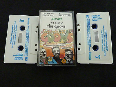 The Best Of The Goons Ultra Rare Aussie Double Cassette Tape! Sellers Milligan