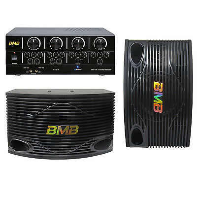 BMB Karaoke System Package 2 (Free Wallmount and Cable)