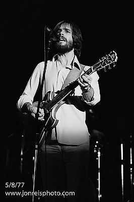 Bob Weir photo from Cornell 77;  5/8/77;10x15; Grateful Dead;  5 day SALE.