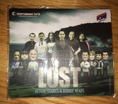 Lost Tv Show Mouse Pad ABC Studios Lost Action Figures & Bobble Heads + 2 Bottle