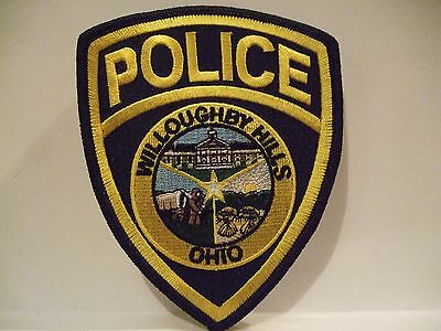 police patch    WILLOUGHBY HILLS POLICE OHIO
