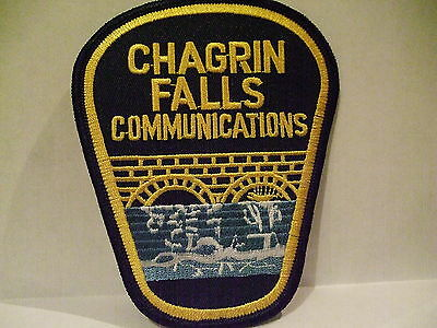 police patch  CHAGRIN FALLS POLICE OHIO  COMMUNICATIONS
