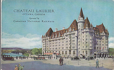 Chateau Laurier, Ottawa, ON. CNR Hotel. Subway Entrance from Depot Circa 1920 PC