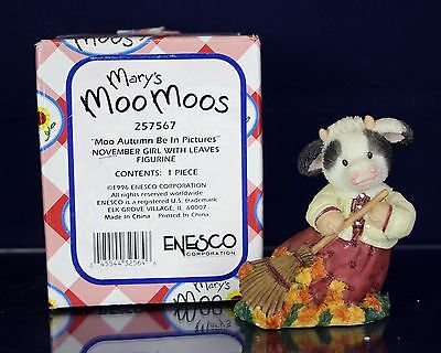 Mary's Moo Moos Autumn Be In Pictures M/NM Cute!  Free Shipping