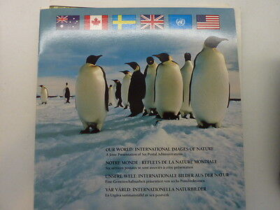 1989 United Nations Our World volume 1 international stamp issue