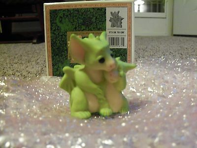 "1997 Whimsical World of Pocket Dragons ~ ""IT'S OK TO CRY"""