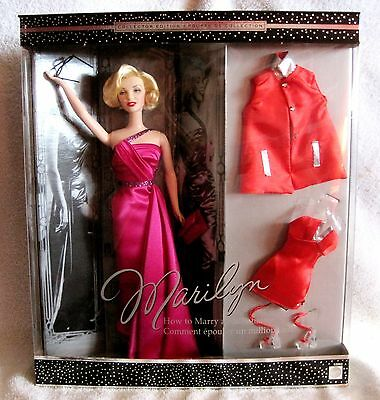 Marilyn Monroe - How To Marry A Millionaire - Mattel - Collector Edition Barbie!