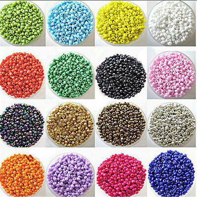 Wholesale 2000pcs DIY Lots Charm Czech Glass Seed beads Jewelry Making Craft 2mm