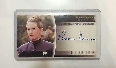 star trek insurrection autograph series lieutenant curtis