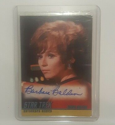 star trek autograph series barbara baldavin