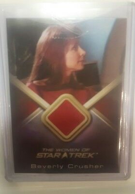 the women of star trek costume card