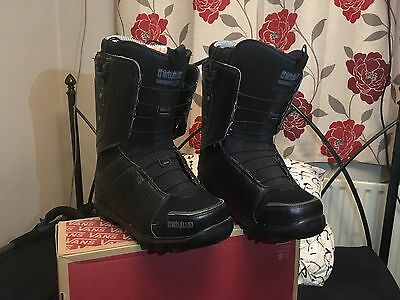 32 ThirtyTwo Lashed FT Snowboard Boots Size 10 UK Black