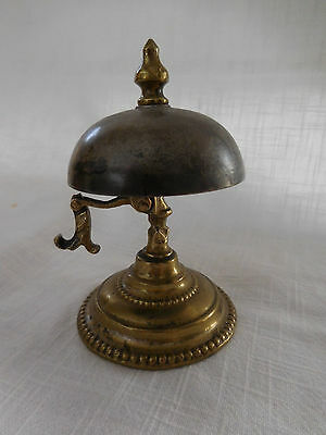 19th century French bronze concierge bell similar to American Horror Story Hotel