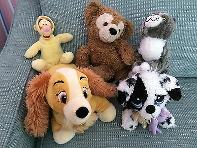 Disney Plush Toys And Others Tigger Lady And The Tramp My First Disney Pooh Bear