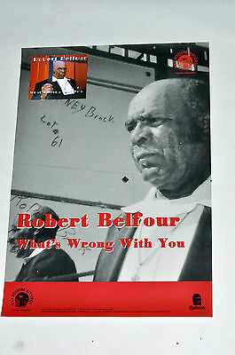 ROBERT BELFOUR PROMO POSTER 4 lp cd fat possum r.l. burnside son house