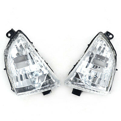 New Silver Motorcycle Turn Signal Indicator Light For HONDA VFR800 2002-2010