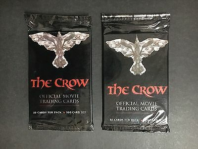 The Crow Official Movie Trading Cards 2 X Full Packs From 1992
