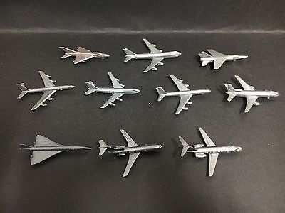 Cereal Toy Lot Of 10 Big World Of Jets From 1977