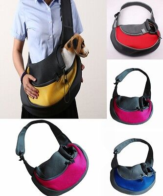 Pet Dog Cat Puppy Sling Carrier Travel Tote Shoulder Bag Purse Backpack Holder